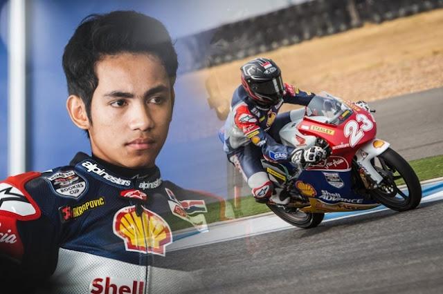 Terus Tunjukkan Performa Menawan, Andi Gilang Dipromosikan Tampil Di MotoGP 2017