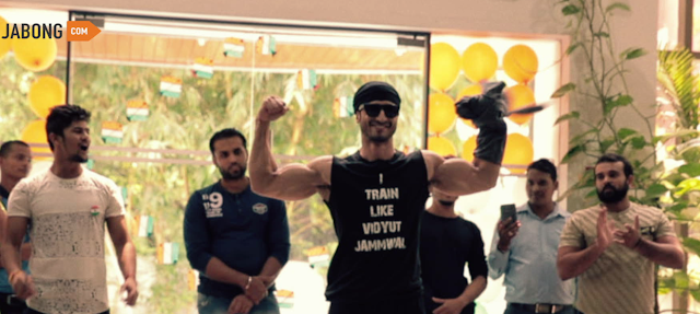 Jabong collaborates with actor Vidyut Jammwal to engage its employees in a power-packed fitness session