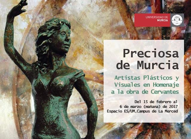 """Exposición: """"Preciosa de Murcia""""."""