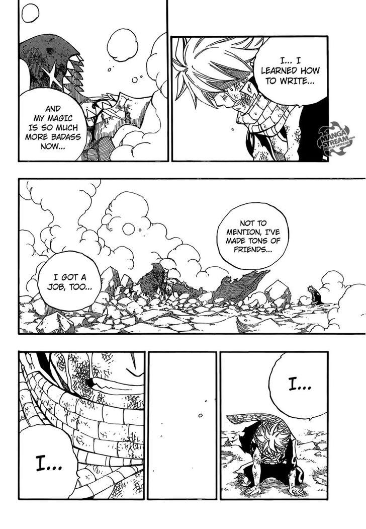 Fairy Tail Ch 415: And it Shall Become Your Will To Live