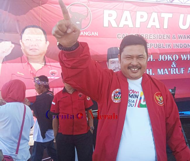 PDI Perjuangan Pesawaran Targetkan Suara 60% Pasangan Jokowi-Amin