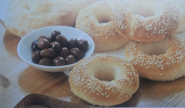 Delicious bread rings