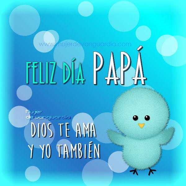 Frases de Feliz Día del Padre en imágenes para regalar
