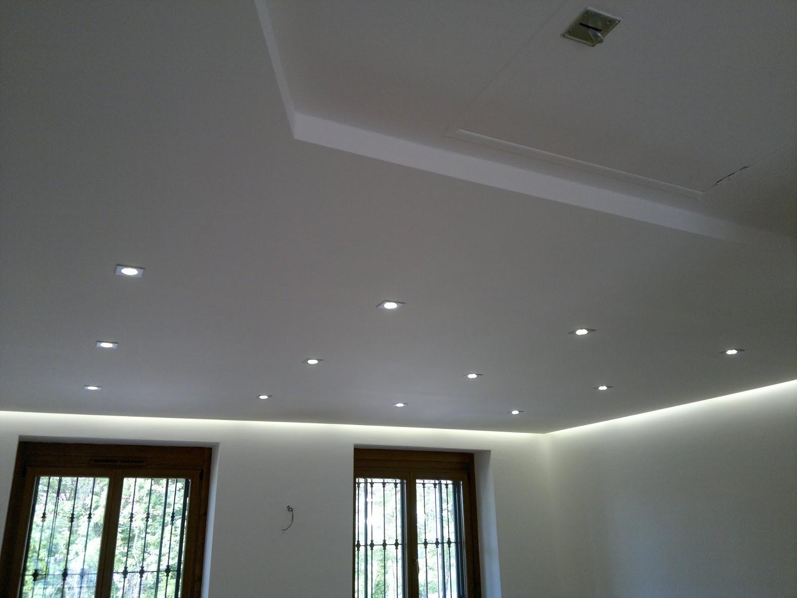 Illuminazione Led casa: Utilizzo del controsoffitto con l'illuminazione a Led