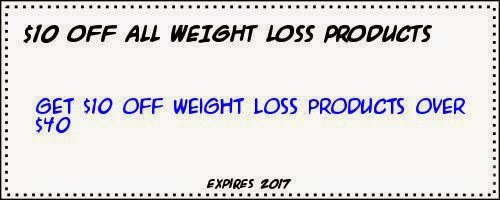 Coupon Weight loss products