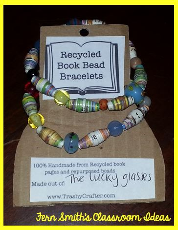Fern Smith's Classroom Ideas Missing Mitten Mystery Book Bracelet Set Giveaway!