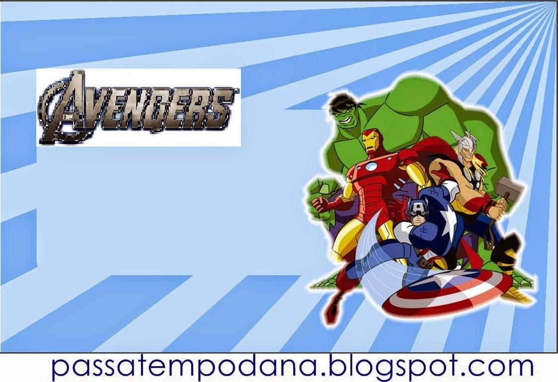Etiquetas para Candy Bar para Fiestas de los Vengadores para ...