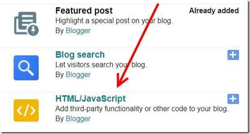 Add-a-html-javascript-widget-in-blogspot