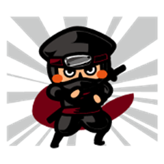Ninja Sticker Nintaro