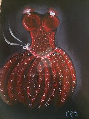 artedonypasion-reddress-art-acrylicpainting
