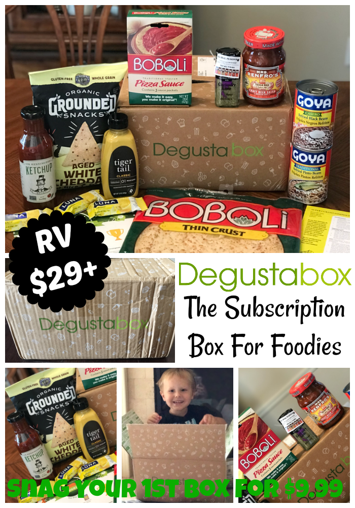 Unboxing February Degustabox: Foodie Subscription Box
