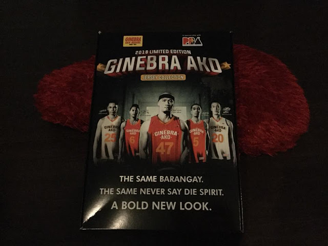How To Get A 2018 Ginebra Ako Jersey Collection Limited Edition