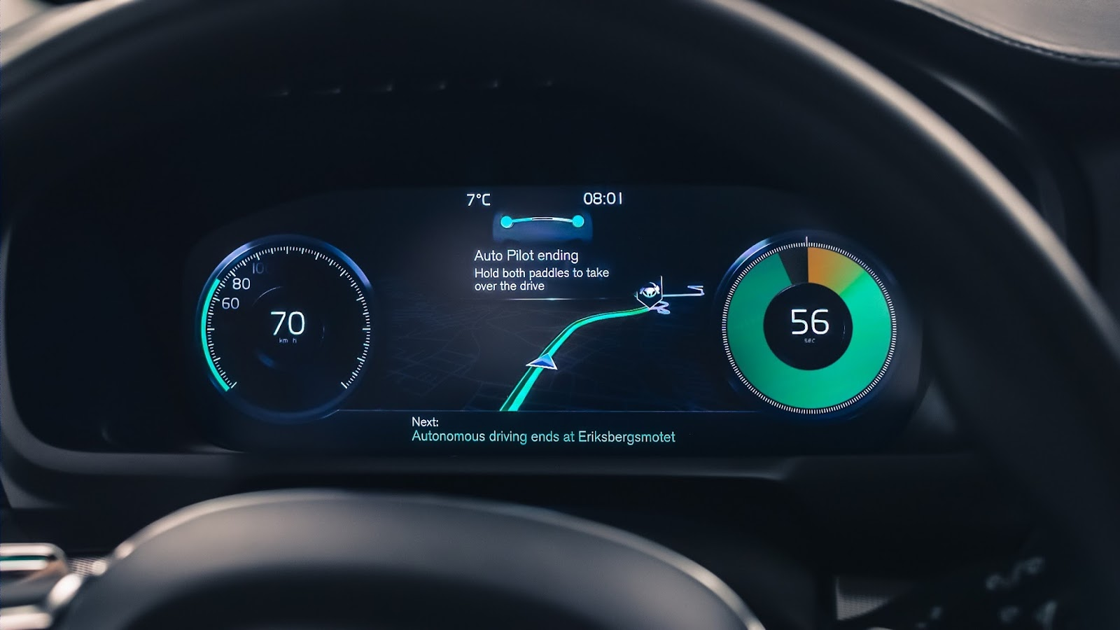 VOLVO AUTO%2BPILOT%2BINTELLISAFE 5 Το 2017 η Volvo θα βγάλει στο δρόμο 100 αυτόνομα αυτοκίνητα