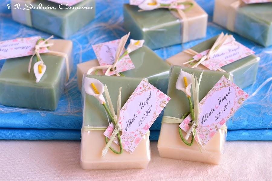 Jabones naturales detalles para bodas bonitas