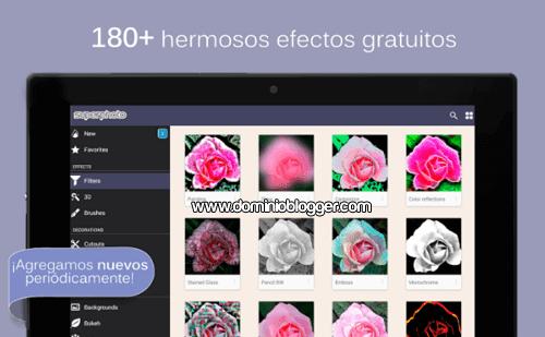 Efectos y filtros para tus fotos con la app SuperPhoto
