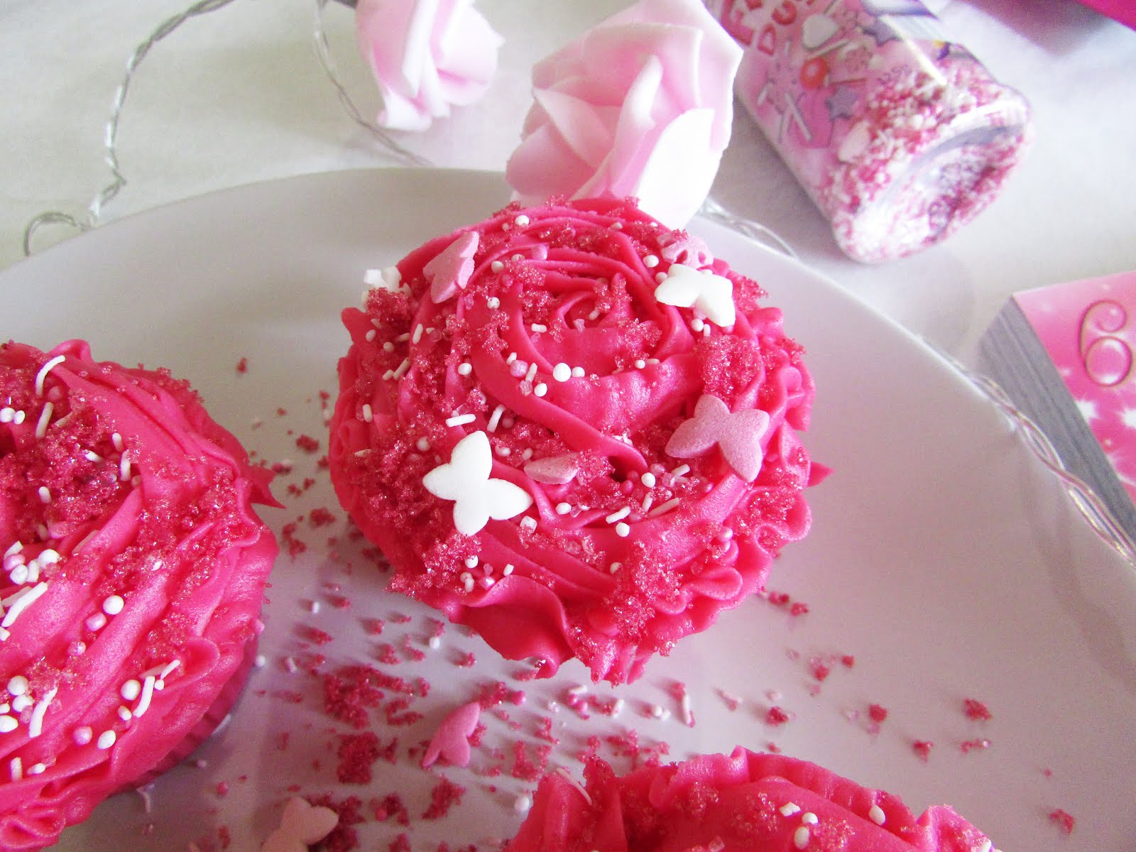 Pink Sugar Heart Attack: Fairy Floss-Filled Cupcakes with Bubblegum Icing