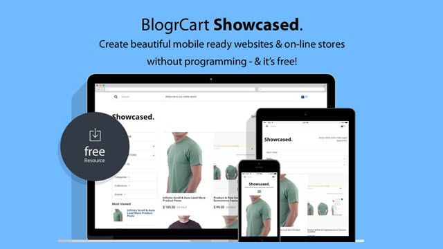 Blogrcart showcased shopping cart blogger templates business fbccfo Gallery