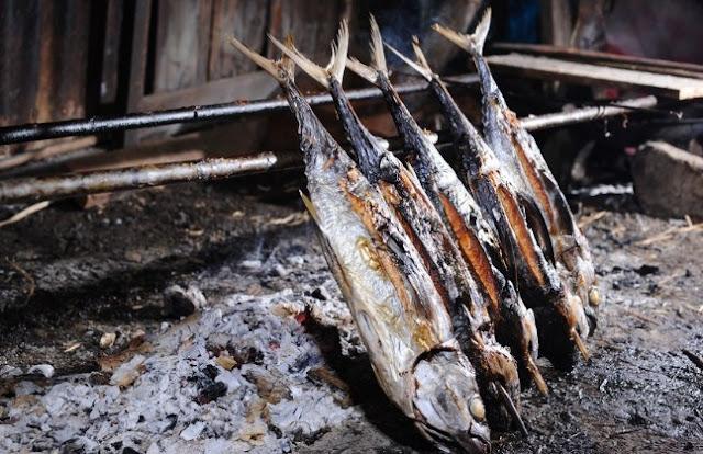 Ikan salai Palembang