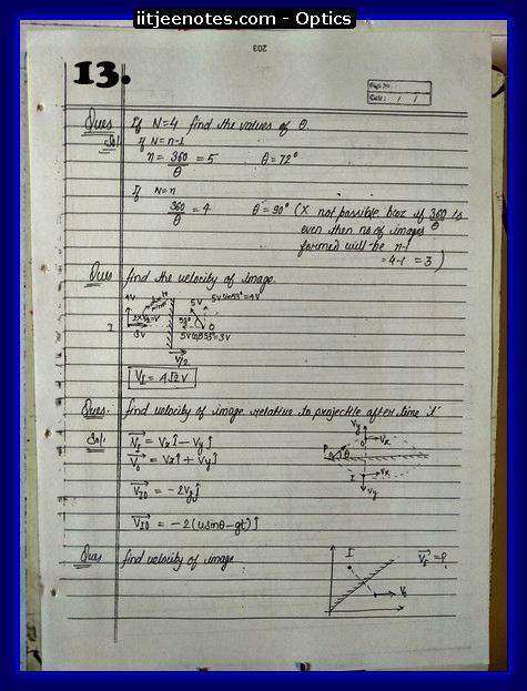 Optics Notes 3