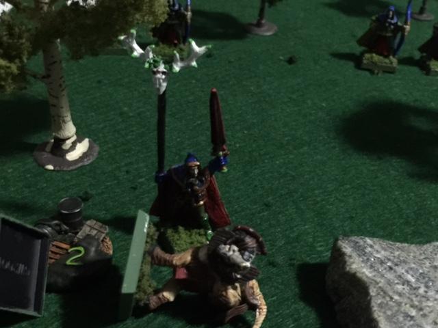 The Beast's Lair: Beastmen vs  Wood Elves, Savage Worlds