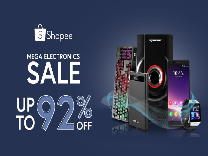 Shopee launches Gadget Zone, offering up to 95 percent off