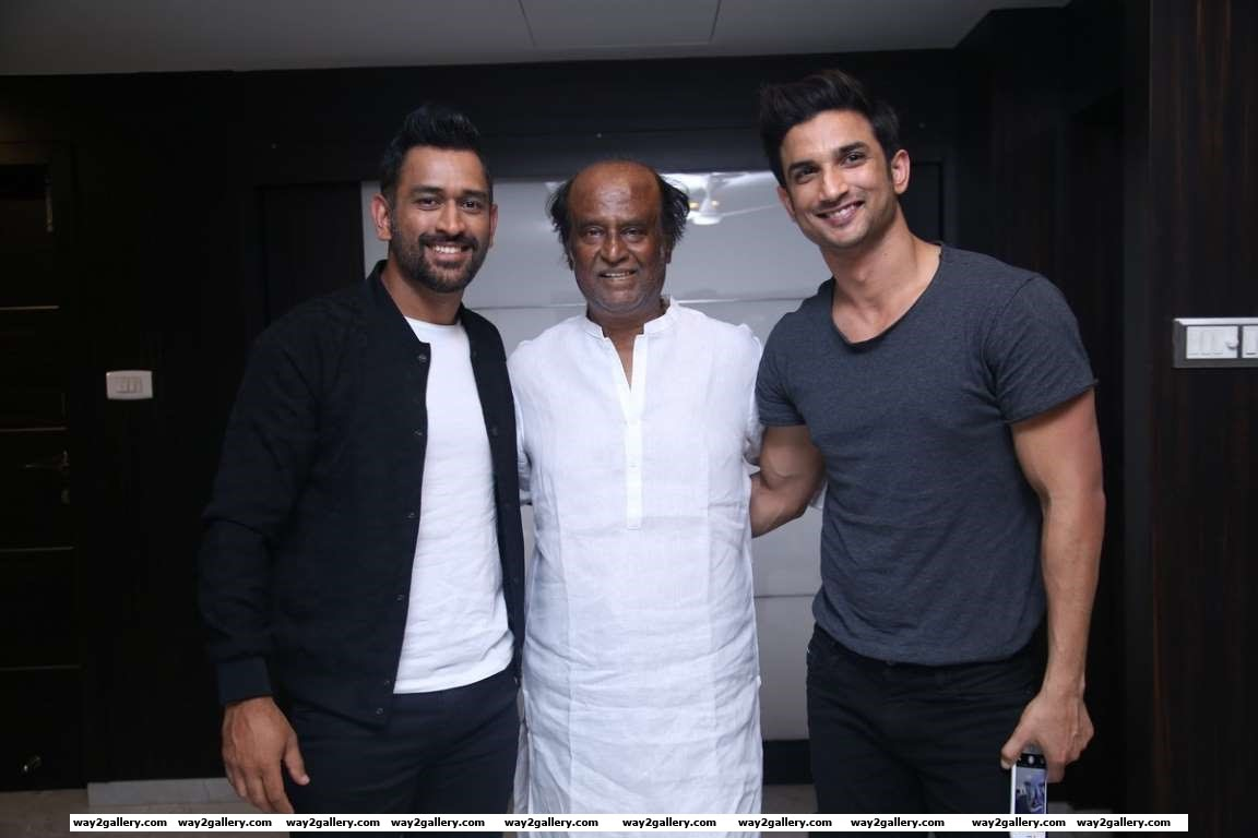Sushant Singh Rajput posted on Twitter How can someone be so genuinely humble and be the biggest superstar weve known ImmenseRespect superstarrajini