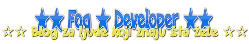 ★★ Fog Developer ★★