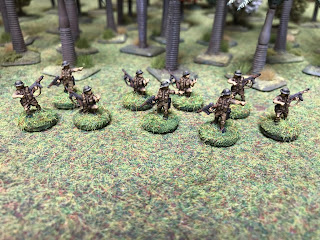 British 15mm NCOs for Malaya