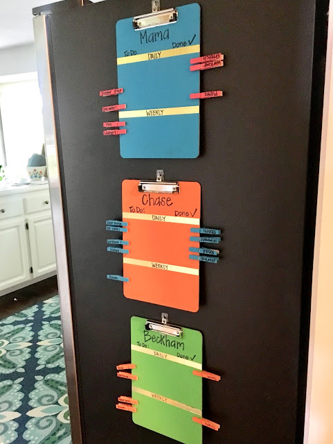 A DIY Chore Chart Your Kids Will Actually Use! / Midwestern Mama