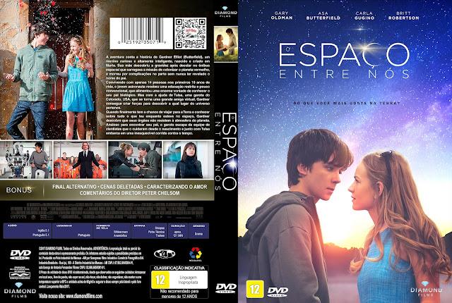 Capa DVD O Espaço Entre Nós [Exclusiva]