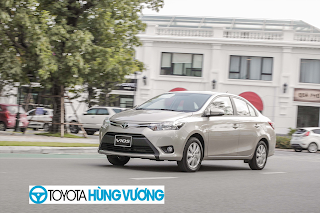 So sánh Toyota Vios với Ford Fiesta 8