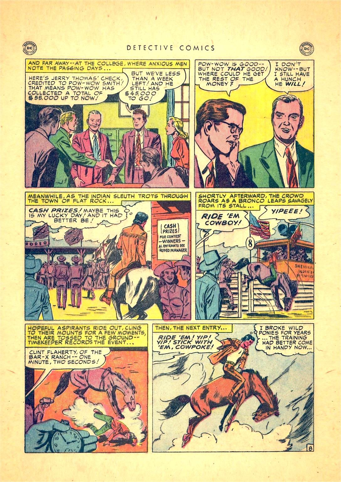 Read online Detective Comics (1937) comic -  Issue #166 - 46
