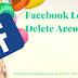 Facebook Login Delete Account