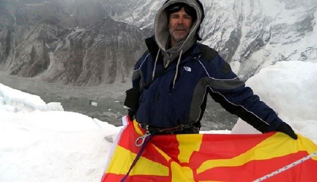 Mazedonier stirbt beim Versuch Mount Everest zu besteigen