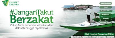 Dompet Dhuafa Lembaga Zakat Terpercaya