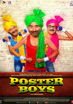 Poster Boys 2017 Full Hindi Movie Download HDRip 1080p
