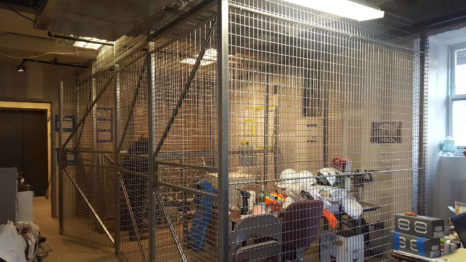 Our Team Also Installed Spacious Tenant Storage Cages In The Building On  Pierrepont. Made With 8ga Galvanized Steel With All Welded Grid Openings  And Steel ...