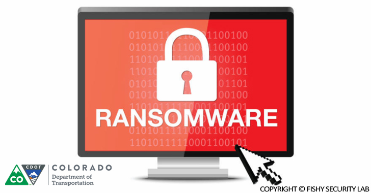 SamSam Ransomware hit the Colorado The Department of Transportation Agency