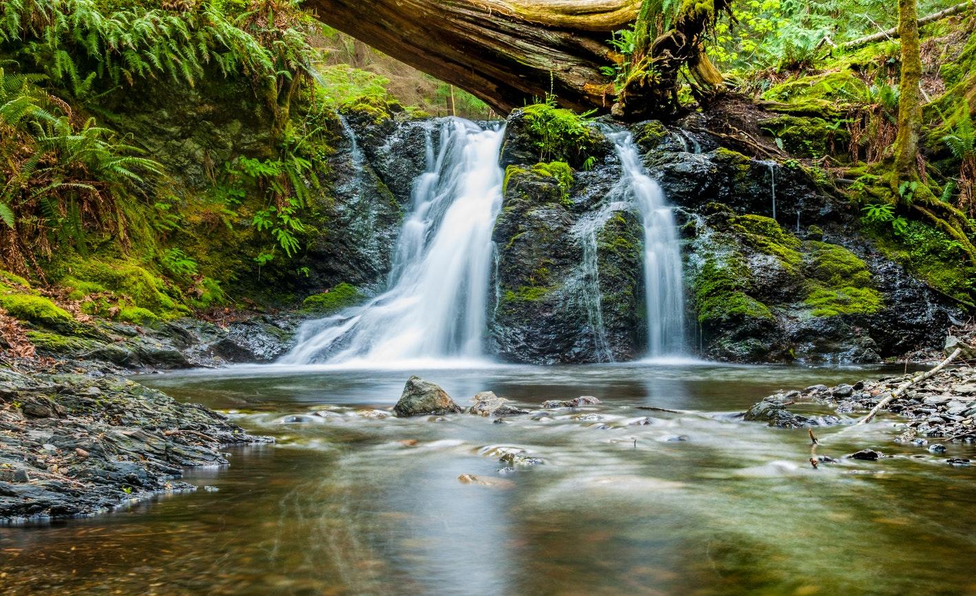 cascade falls moran state park