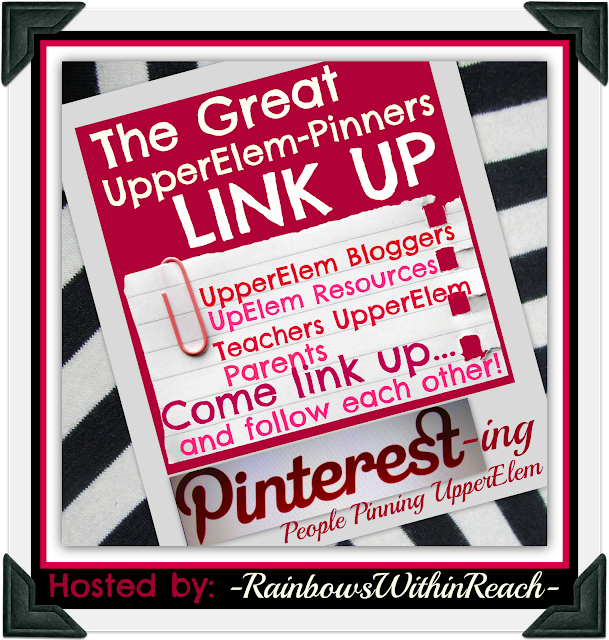 photo of: The Great Upper Elementary Pinterest Link UP hosted by RainbowsWithinReach