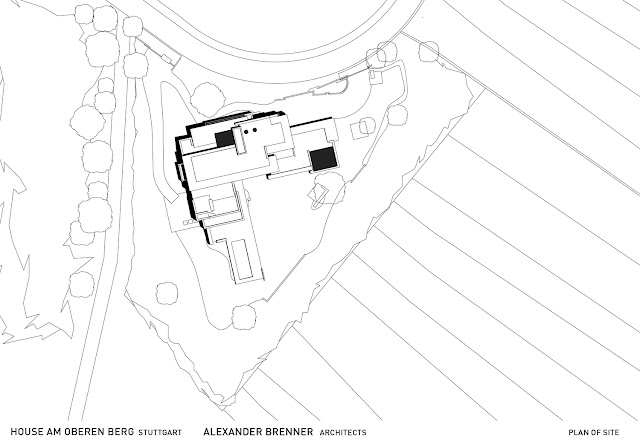 Site plan of an amazing home in Germany