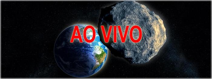 máxima aproximação do asteroide 2012 TC4