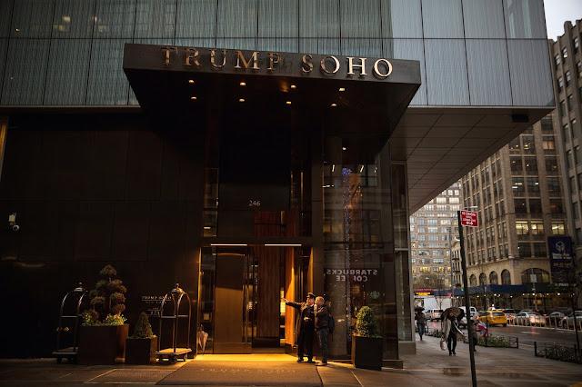 The Trump SoHo, a luxury condominium-hotel in Lower Manhattan