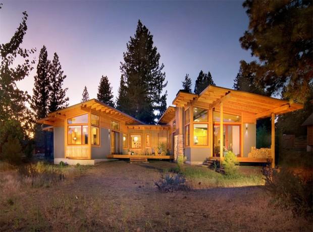 แบบบ้านไม้แสนสวย