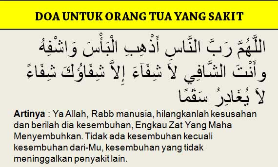 4 Doa Untuk Orang Tua Yang Sesuai Sunnah Rasululloh Doa