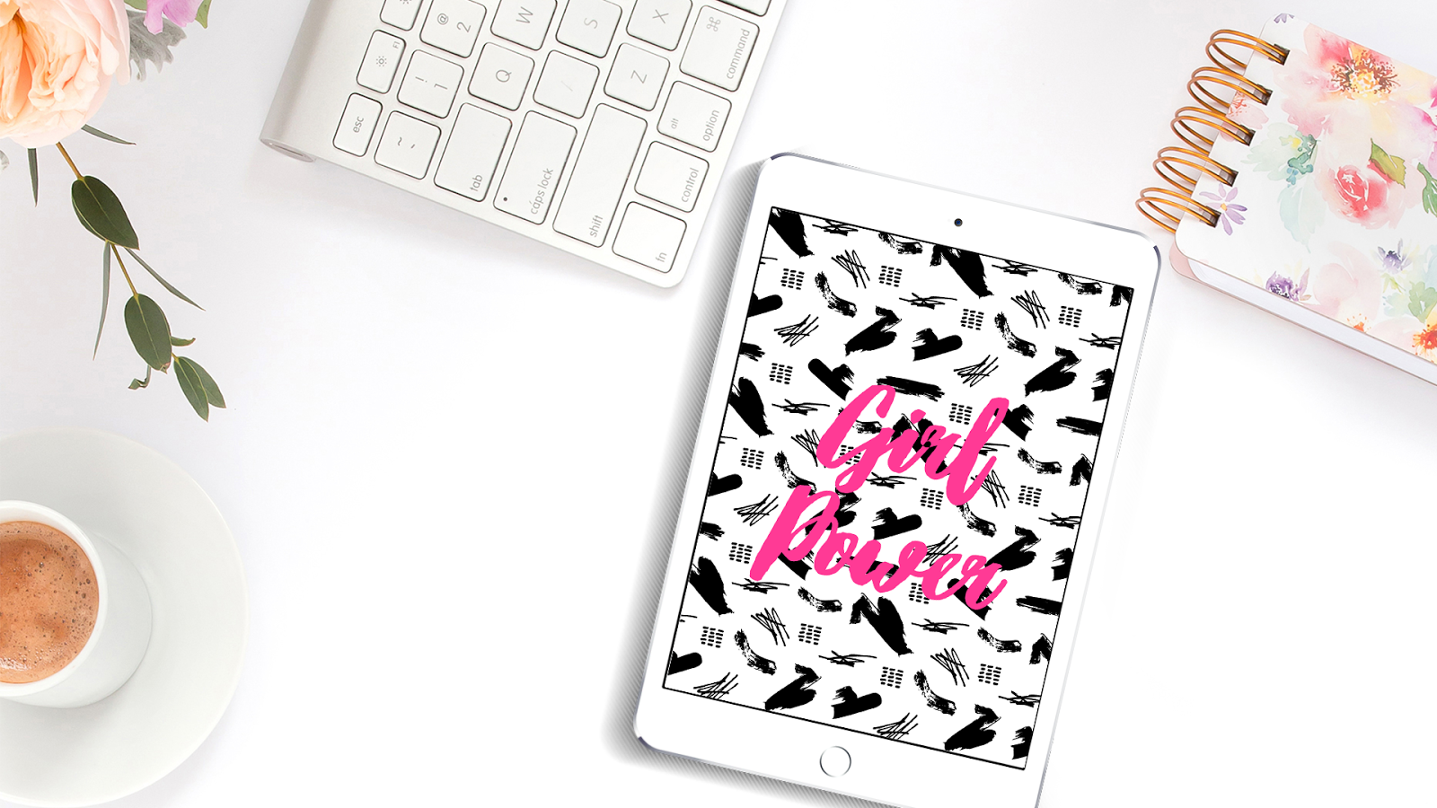 Freebie: wallpaper girl power para seus dispositivos