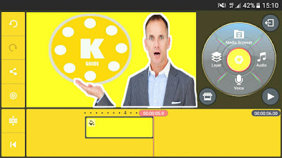 كين ماستر ذهبي أخر اصدار يدعم طبقة الفيديو