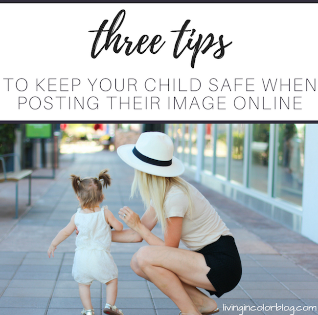 Three Tips on How to Keep Your Child Safe Online by lifestyle blogger Larissa of Living in Color