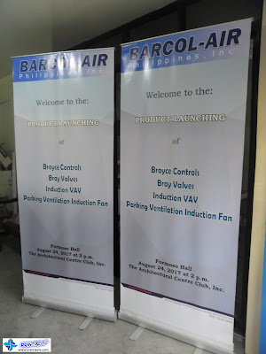 Roll Up Banners - Barcol Air Philippines