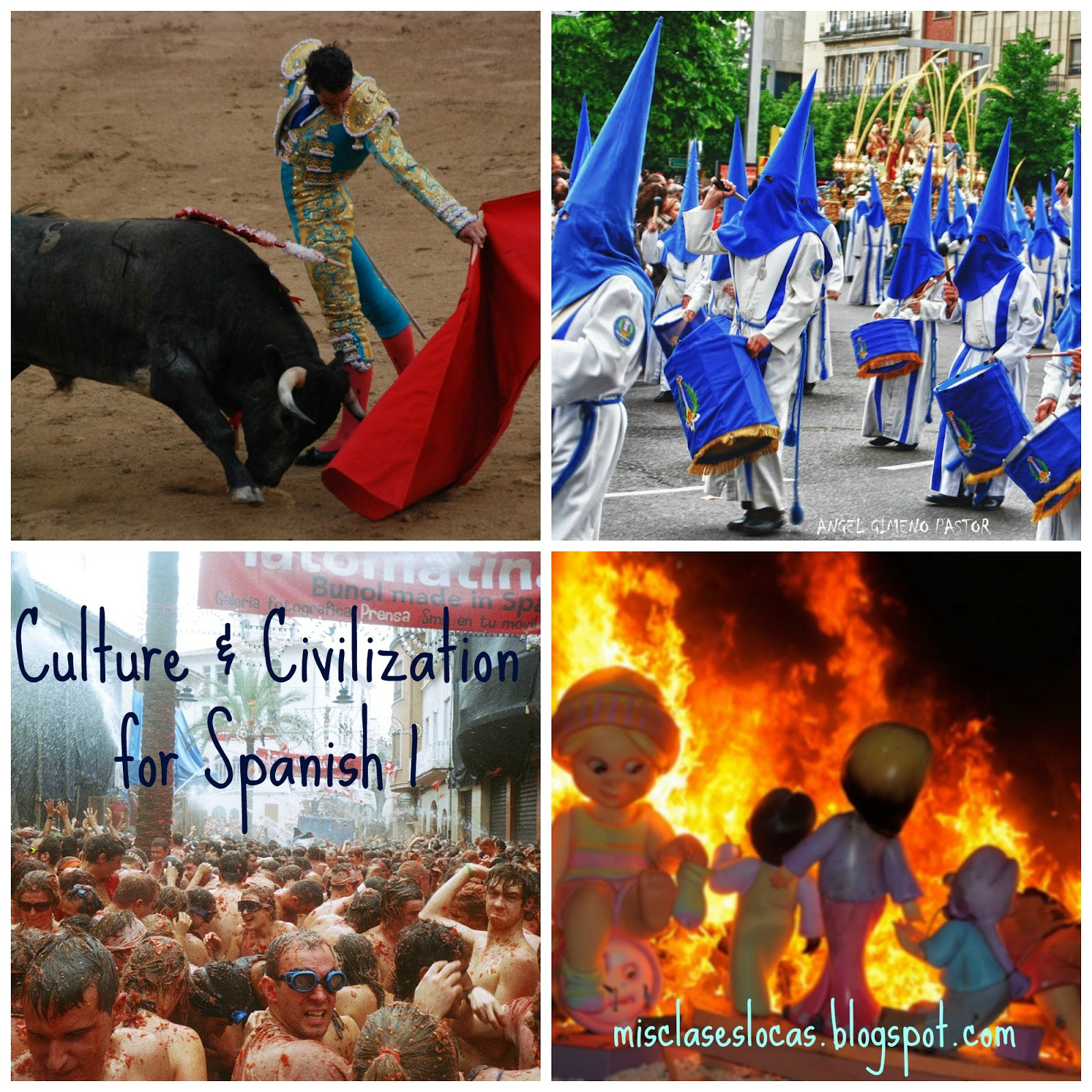 Culture & Civilization - Spanish 1 - Mis Clases Locas